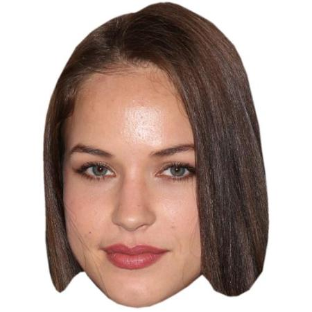 A Cardboard Celebrity Big Head of Alexis Knapp