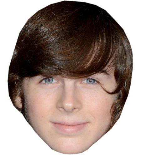 A Cardboard Celebrity Big Head of Chandler Riggs