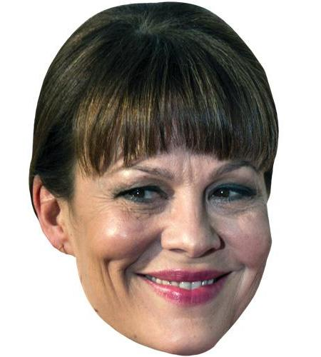 A Cardboard Celebrity Big Head of Helen McCrory