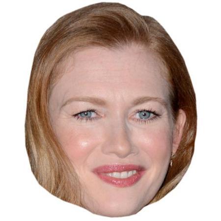 A Cardboard Celebrity Big Head of Mireille Enos