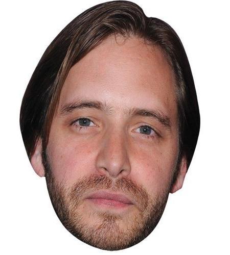 A Cardboard Celebrity Big Head of Aaron Stanford