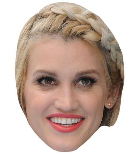 A Cardboard Celebrity Big Head of Ashley Roberts
