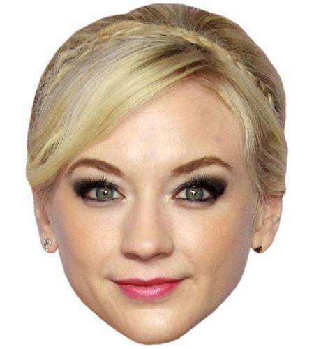 A Cardboard Celebrity Big Head of Emily Kinney