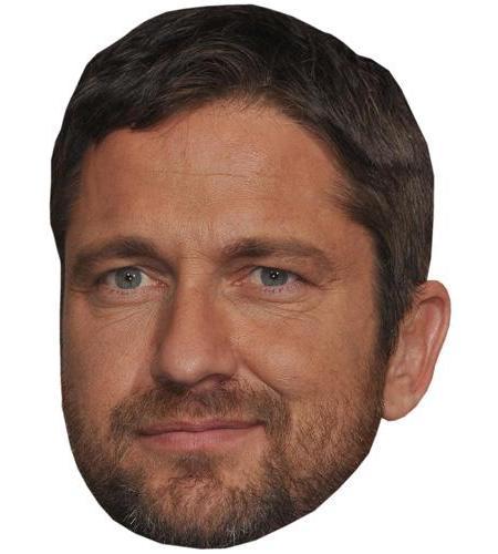 A Cardboard Celebrity Big Head of Gerard Butler