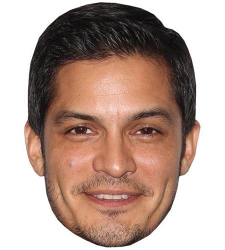 A Cardboard Celebrity Big Head of Jay Hernandez
