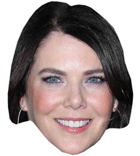 A Cardboard Celebrity Big Head of Lauren Graham