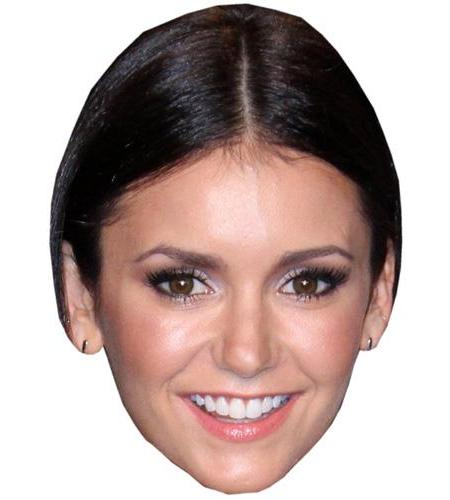 ACardboard Celebrity Big Head of Nina Dobrev