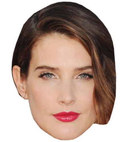 A Cardboard Celebrity Big Head of Cobie Smulders