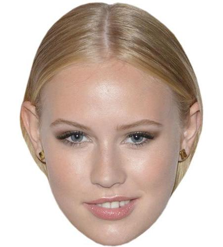 A Cardboard Celebrity Big Head of Danika Yarosh
