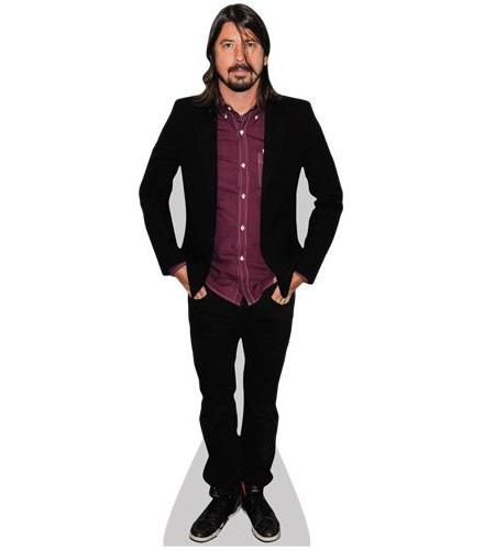 A Lifesize Cardboard Cutout of Dave Grohl (Jacket)