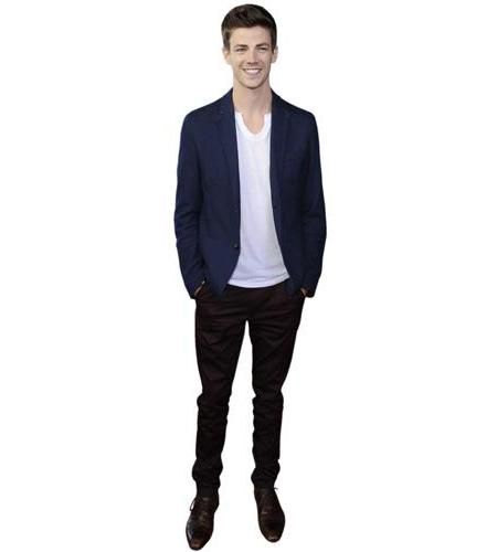 A Lifesize Cardboard Cutout of Grant Gustin (2016)