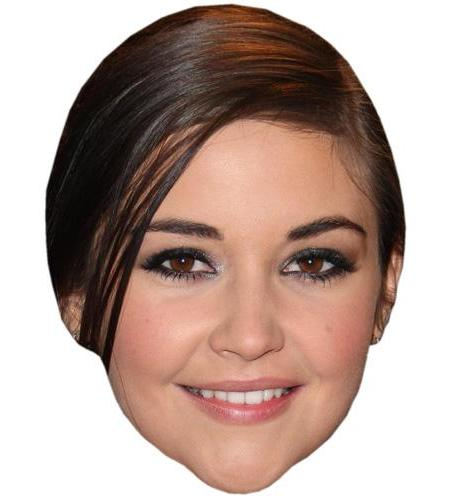 A Cardboard Celebrity Big Head of Jacqueline Jossa
