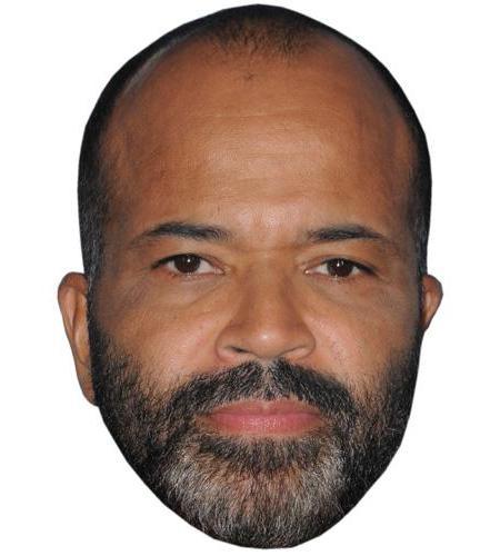 A Cardboard Celebrity Big Head of Jeffrey Wright