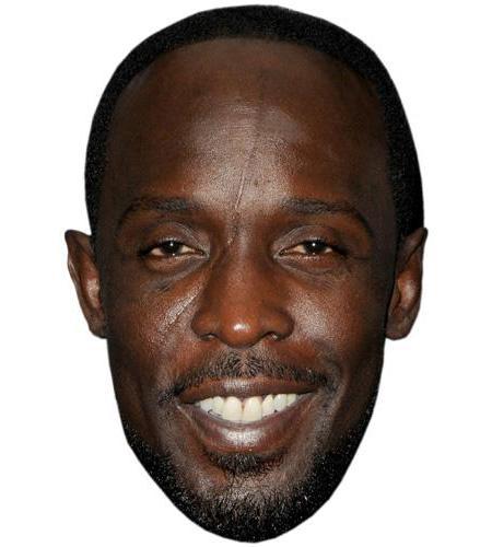 A Cardboard Celebrity Big Head of Michael Kenneth Williams