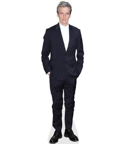 A Lifesize Cardboard Cutout of Peter Capaldi