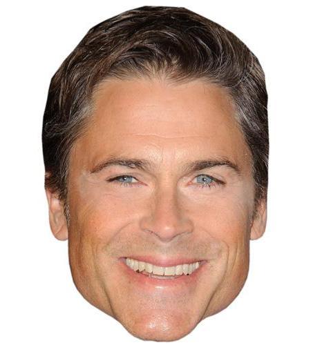 A Cardboard Celebrity Big Head of Rob Lowe