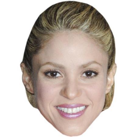 A Cardboard Celebrity Big Head of Sharika