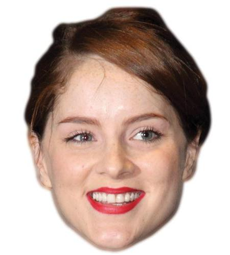 A Cardboard Celebrity Big Head of Sophie Rundle