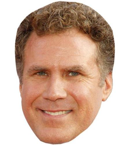 A Cardboard Celebrity Big Head of Will Ferrell