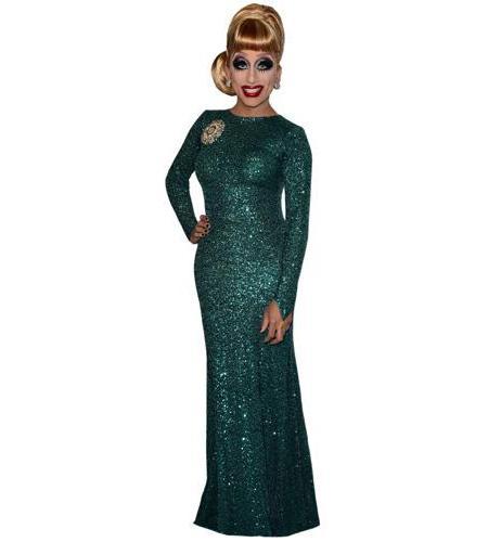 Bianca del Rio (Green Dress)