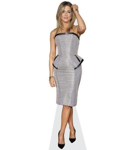 Jennifer Aniston (B&W Dress)