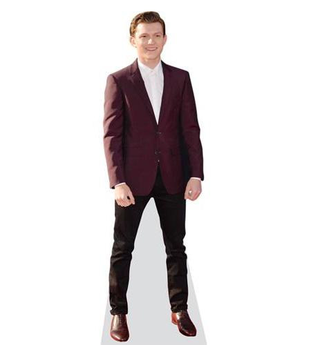 Tom Holland (Maroon Blazer)