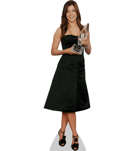 Alyson Hannigan (Black Dress)