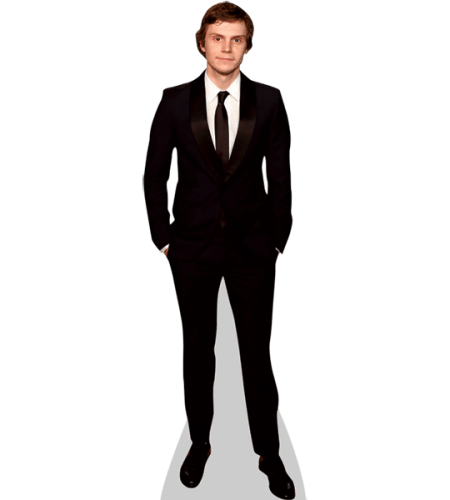 Evan Peters (Black Suit)