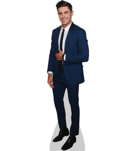 Zac Efron (Blue Suit)