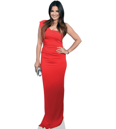 Maite Perroni (Red Dress)
