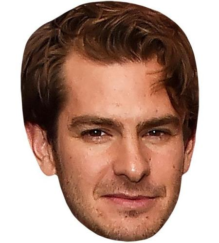 Andrew Garfield Curly Hair Celebrity Mask Celebrity Cardboard Cutouts