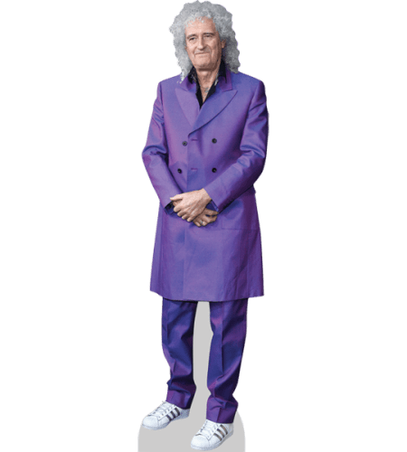 Brian May (Purple Suit)