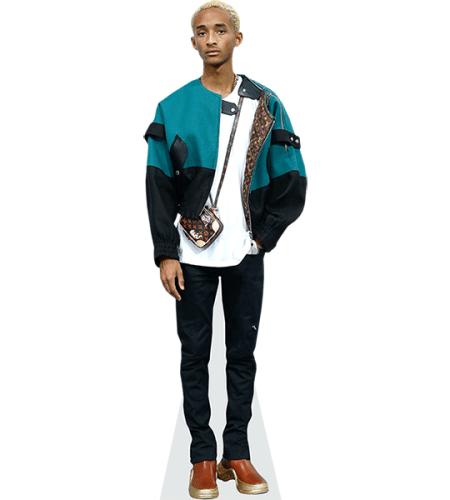 Jaden Smith Blue Jacket Cardboard Cutout Celebrity Cardboard Cutouts