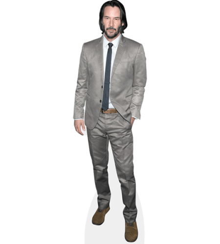 Keanu Reeves (Grey Suit)