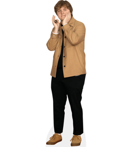 Lewis Capaldi (Brown Jacket)