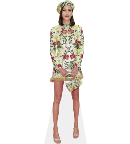Alexa Chung (Yellow Dress)