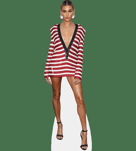 Hailey Baldwin (Stripes)