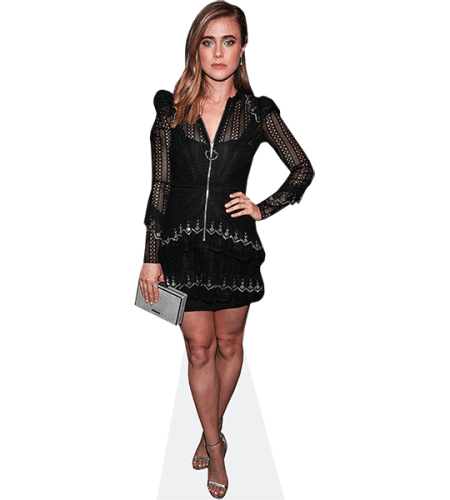 Melissa Roxburgh (Black Dress)