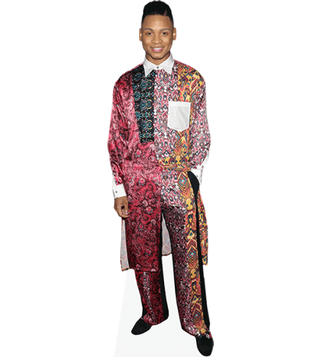 Ryan Jamaal Swain (Colourful Suit)
