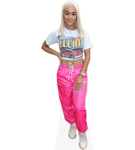 Saweetie (Pink Trousers)
