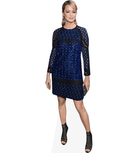 Virginie Efira (Blue Dress)