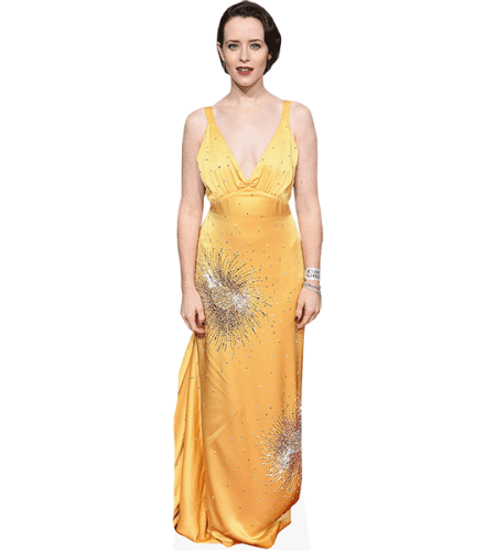 Claire Foy (Yellow Dress)