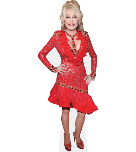 Dolly Parton (Red Dress)