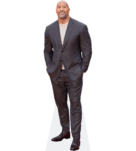 Dwayne The Rock Johnson (Checked Suit)
