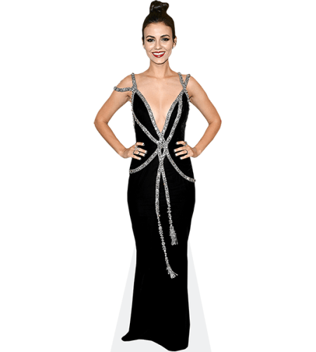 Victoria Justice (Black Dress)