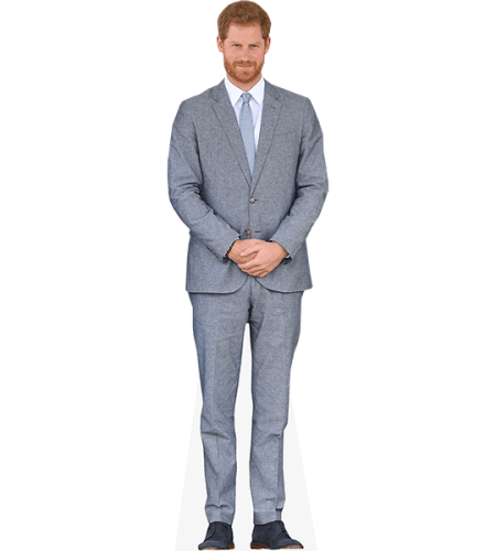 Prince Harry (Grey Suit)