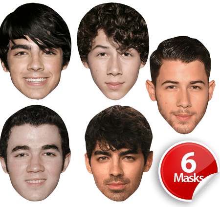 Jonas Brothers Mask Pack