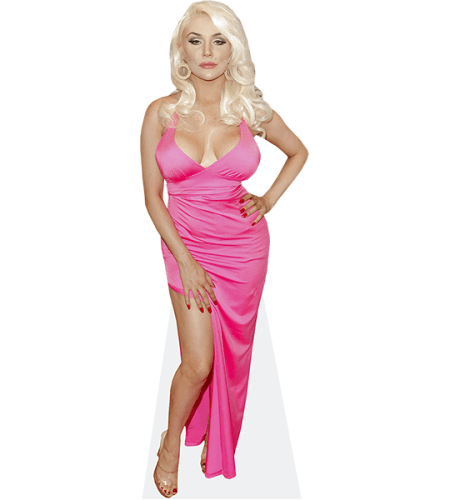 Courtney Stodden (Pink Dress)