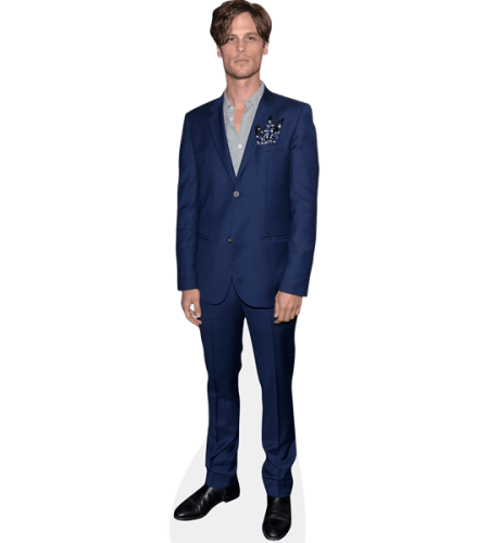 Matthew Gray Gubler (Blue Suit)