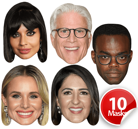 The Good Place Mask Pack
